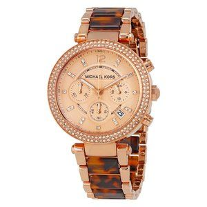 Authentic MICHAEL KORS Parker Chronograph Watch